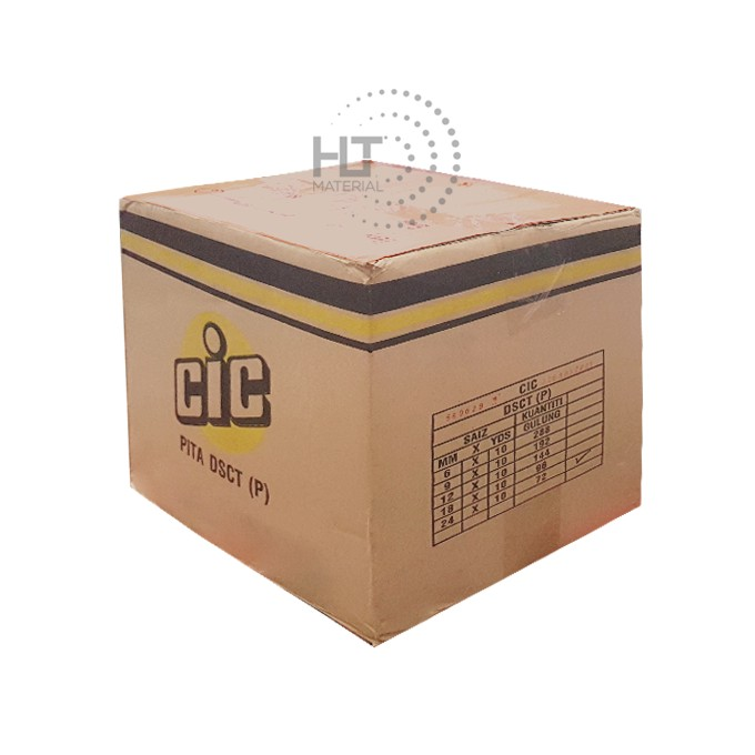 DOUBLE SIDED TAPE CIC carton