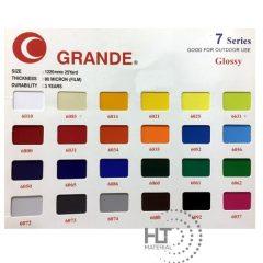 GRANDE SHEET 7