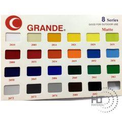 GRANDE SHEET 8