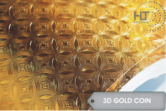 STICKER 3D GOLD COIN