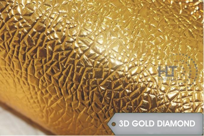 STICKER 3D GOLD DIAMOND