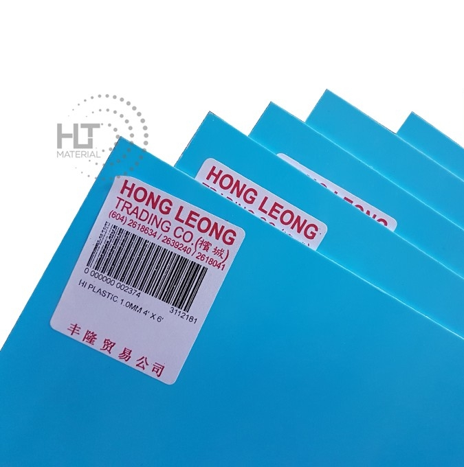 HI PLASTIC 1MM LABEL