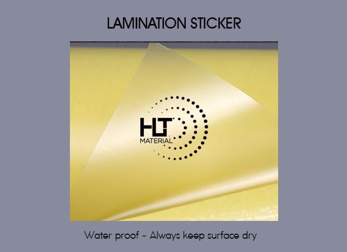 LAMINATION STICKER 2