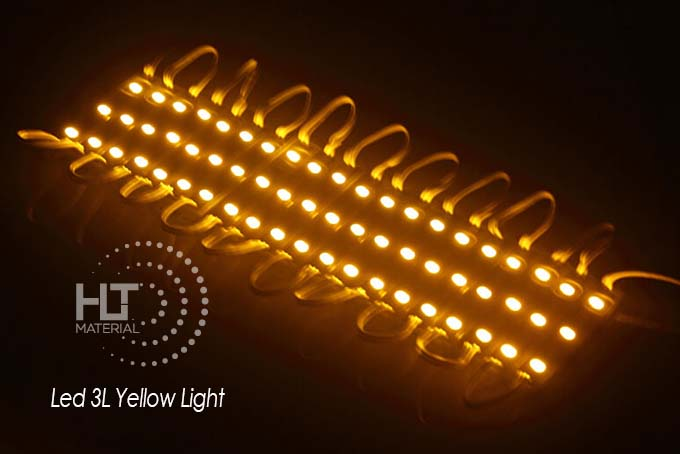 LED 3L YELLOW