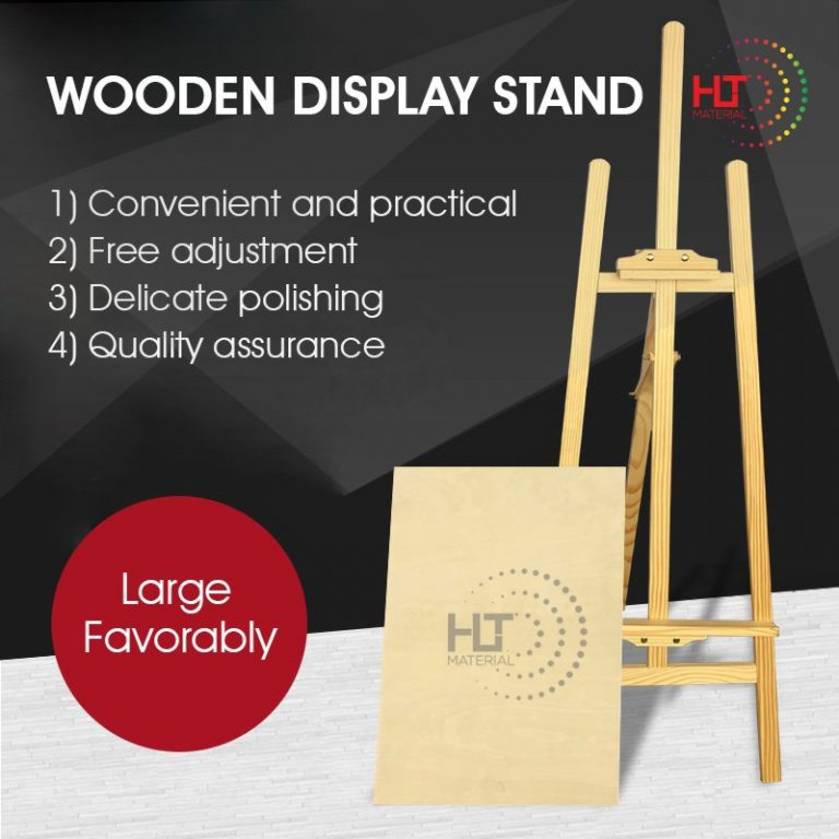PINE WOOD EASEL STAND MAIN