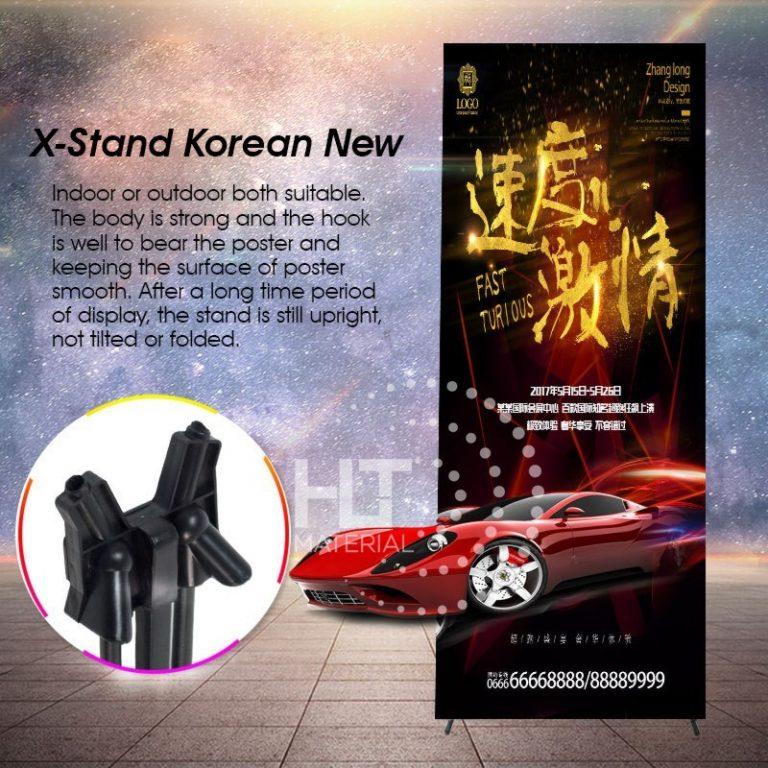 X STAND KOREAN 1a