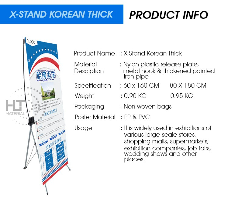 X STAND KOREAN THICK 2