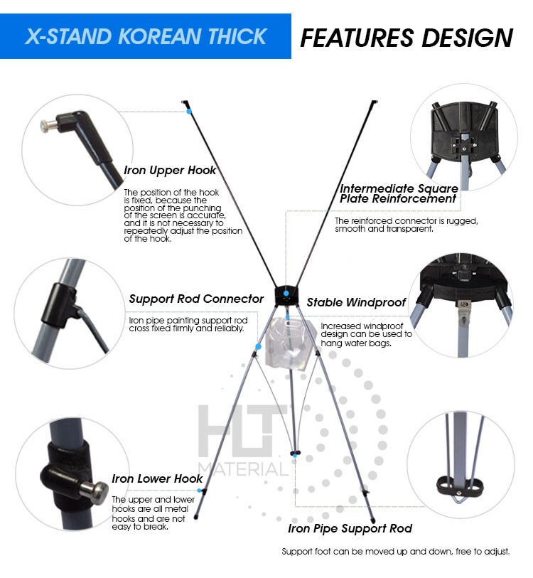 X STAND KOREAN THICK 4