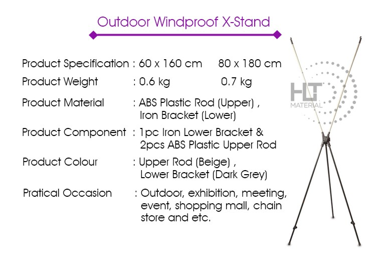 X STAND OUTDOOR 1