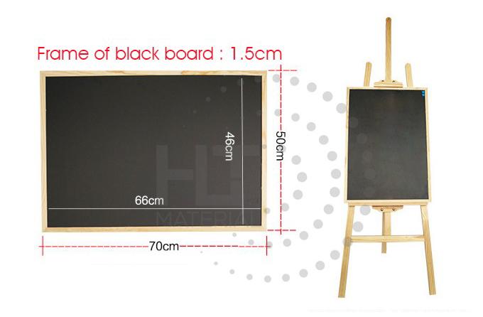 PINE WOOD MAGNETIC BLACKBOARD 5.