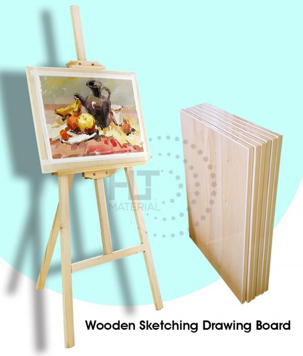WOODEN SKETCHING DRAWING BOARD MAIN