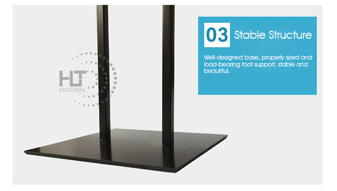 ADJUSTABLE HEIGHT POSTER STAND 2C