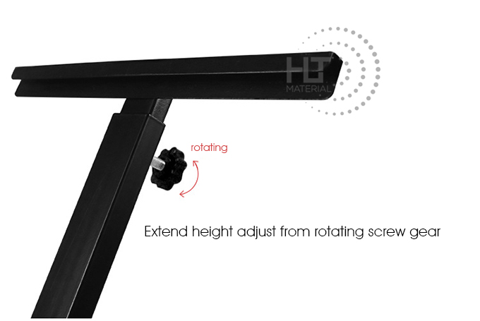 ADJUSTABLE ROTATING POSTER STAND 4