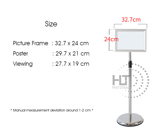 DISPLAY STAND A4 10