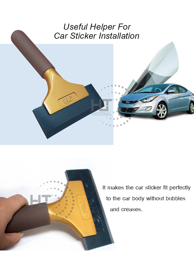 3M GOLD ALUMINUM HANDLE SCRAPER 1