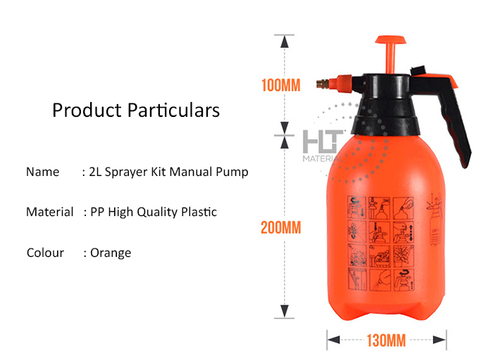 SPRAYER KIT MANUAL PUMP 2L 2